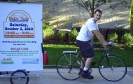 Bikes for Trees_Solar Fair billboard