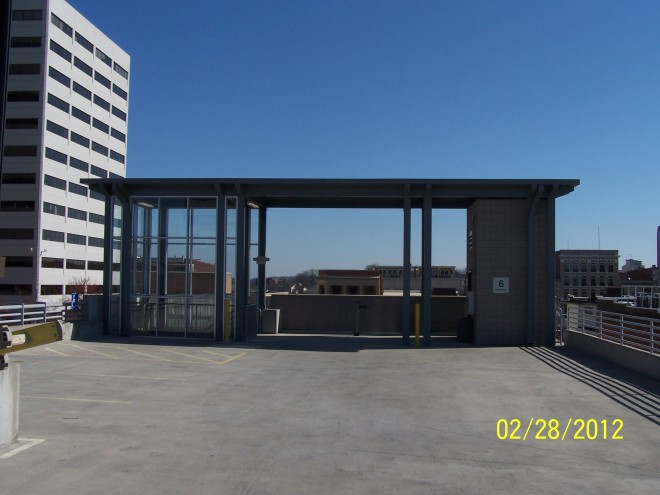 Market Square Garage Solar Location