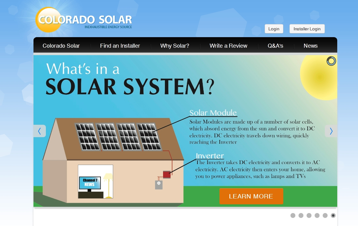 Interested in learning about solar energy visit colorado for Solar energy information for students